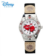 100% mcqueen coche genuino disney reloj de los niños para niños de dibujos animados relojes de pulsera hombres reloj militar relogio del reloj de regalo de navidad 63906