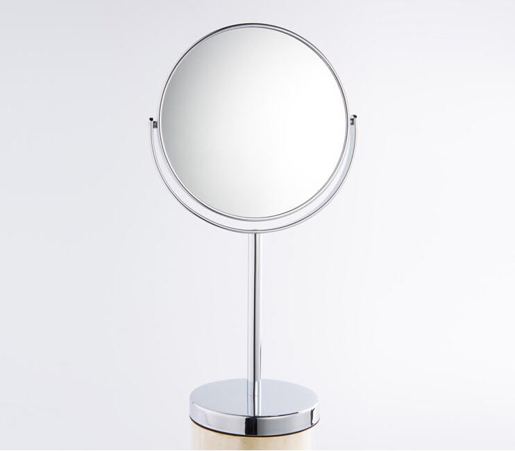1Pcs Hot Sale 7Inch big Mirror Makeup Cosmetic Dual Side Mini Lady Girl Women Lady Beauty
