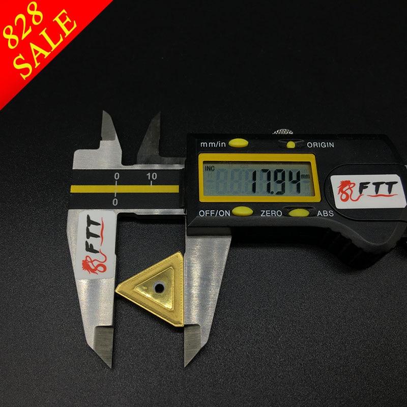 10 PZ TPKR2204 NN UE6020 Inserti in metallo duro utensili per - Macchine utensili e accessori - Fotografia 3