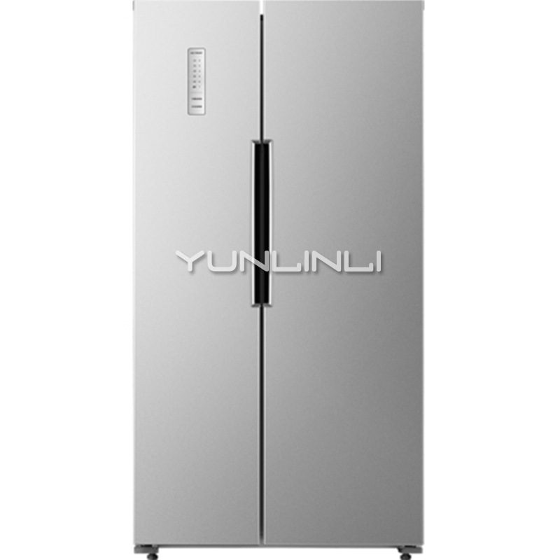 Fashionable Household Double-door Refrigerator 452L Large Capacity Electric Refrigerator Power-saving Fridge For Home BCD-452WK