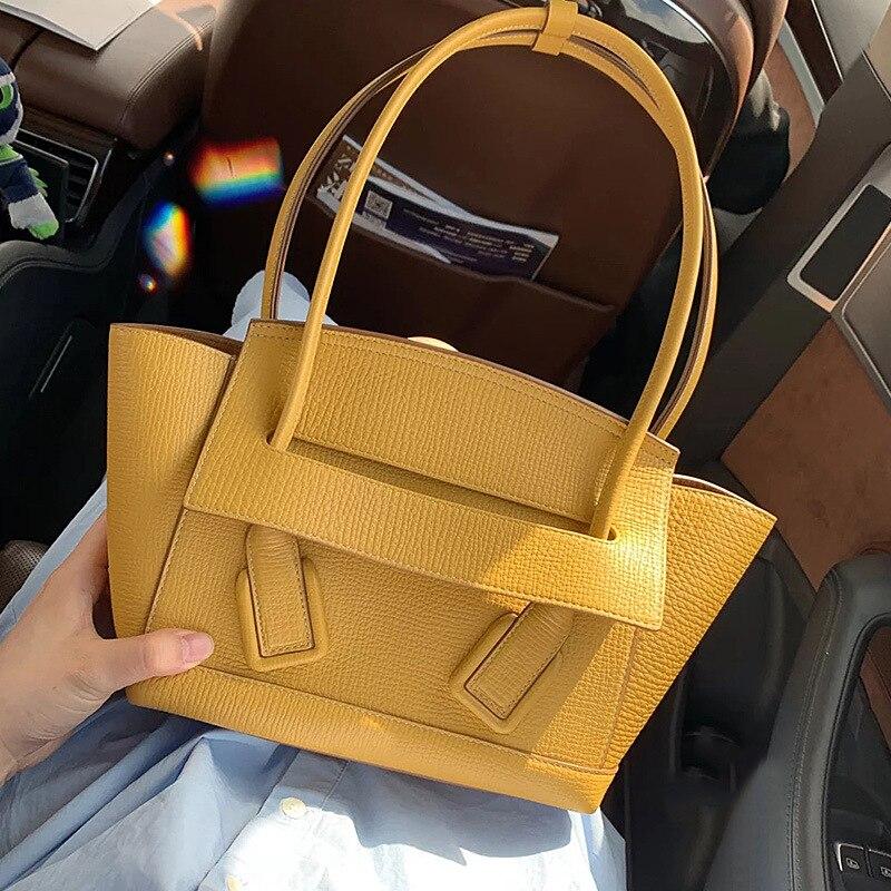 Neue Berühmte Designer Marke Luxus Frauen Leder Handtaschen Mode Messenger Schulter Tote Qualität Tasche Kupplungen Bolsa Feminina-in Schultertaschen aus Gepäck & Taschen bei  Gruppe 2