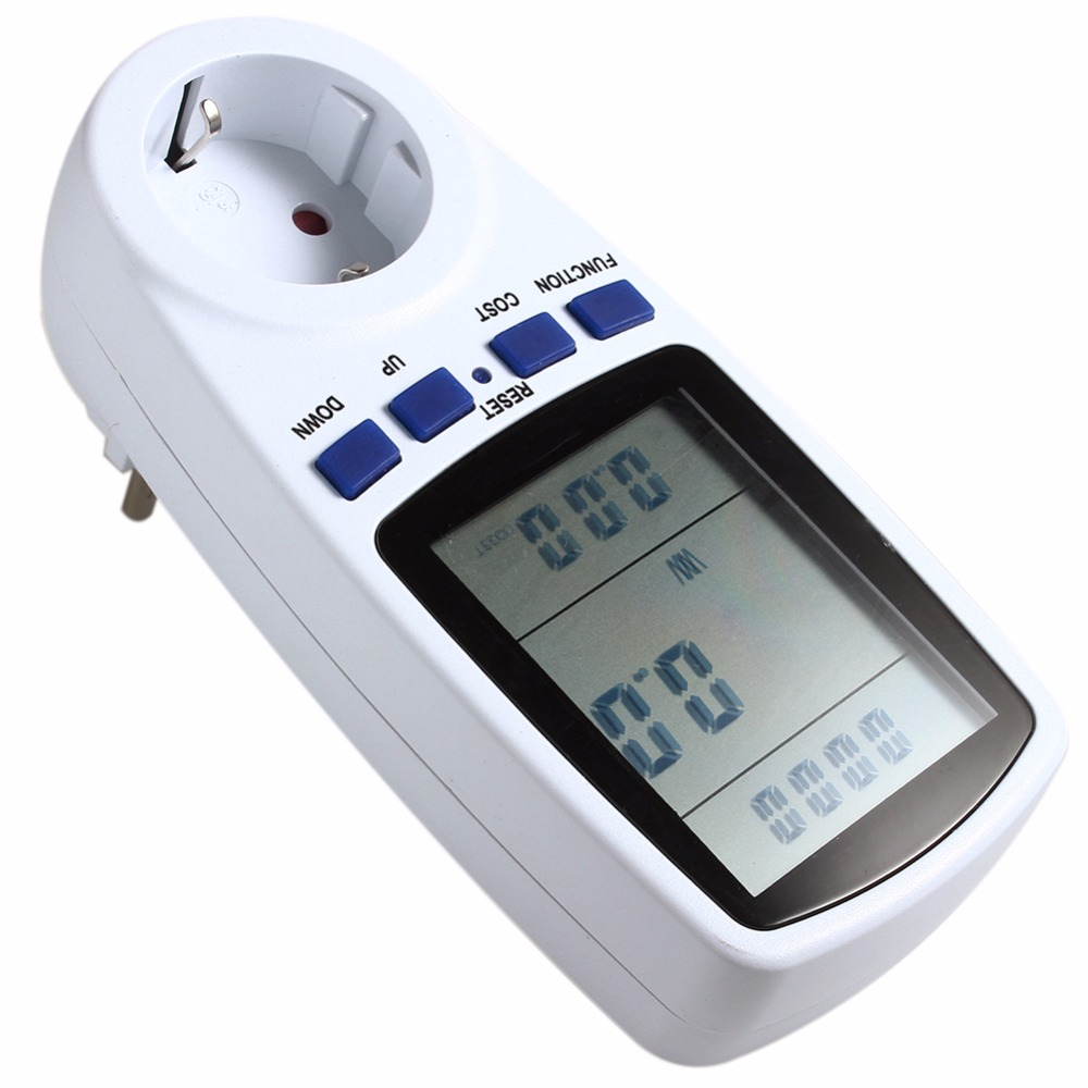 Outlet Wattage Meter : Energy meter watt volt voltage current electricity monitor