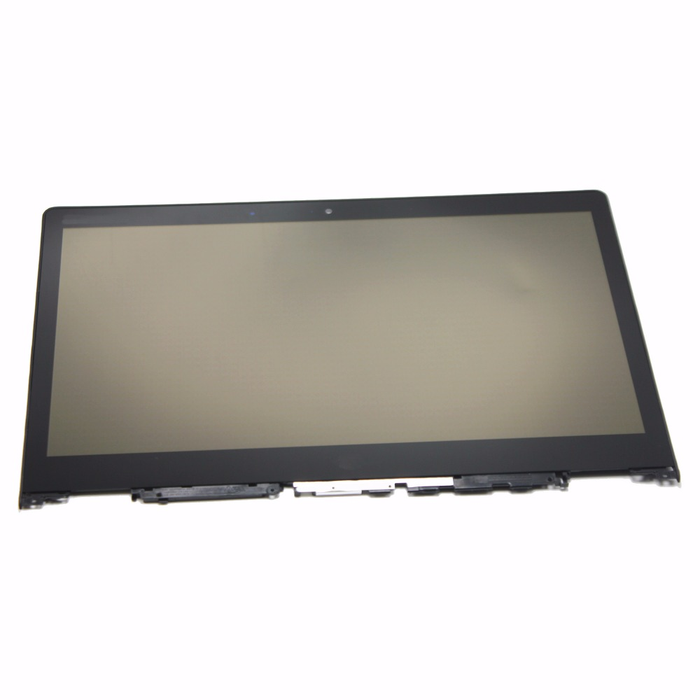 14'' Full LCD Display Panel Touch Digitizer Glass Screen Assembly with Bezel / Frame For Lenovo Yoga 700-14ISK 80QD 1920x1080
