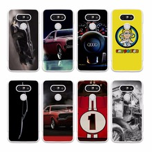 abf01cce00d4 awesome Super Cars red car tuned supra design hard White phone Case Cover  for LG G5