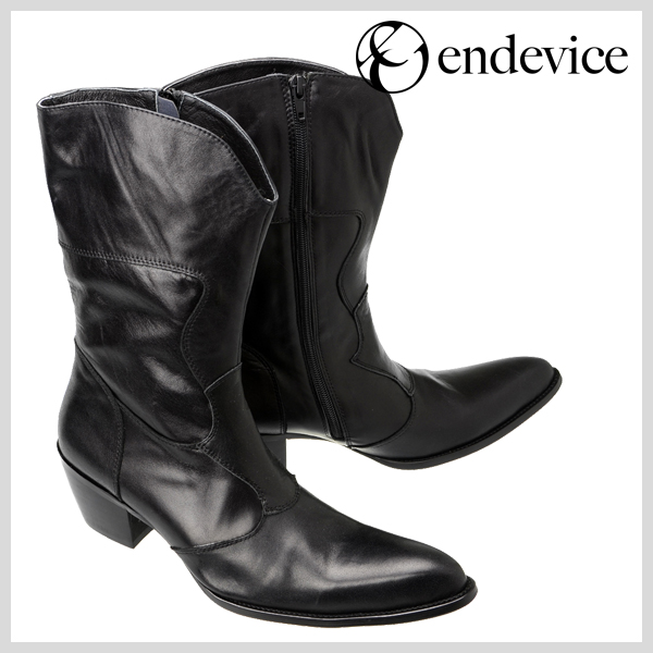 Botas Masculina Mens Knee High Boots Handmade High Heels Cowboy Boots Black Genuine Leather Mens Dress Boots Military Zapatos in Basic Boots from Shoes