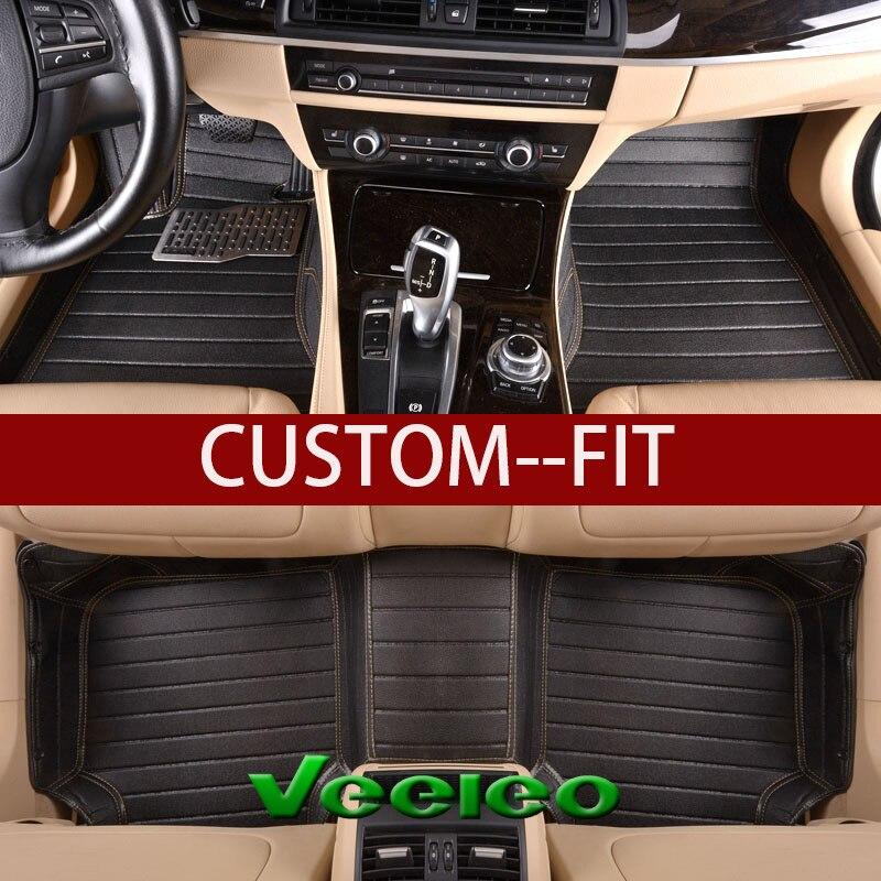 For BMW X5 7 Seat Car Floor Mats Carpets Waterproof Protector Auto Mat 2008-2013