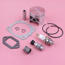 47 ミリメートルピストンピンリングサークリップキット Stihl MS361 シリンダーマフラーガスケット解凍バルブベアリングチェーンソー部品を交換