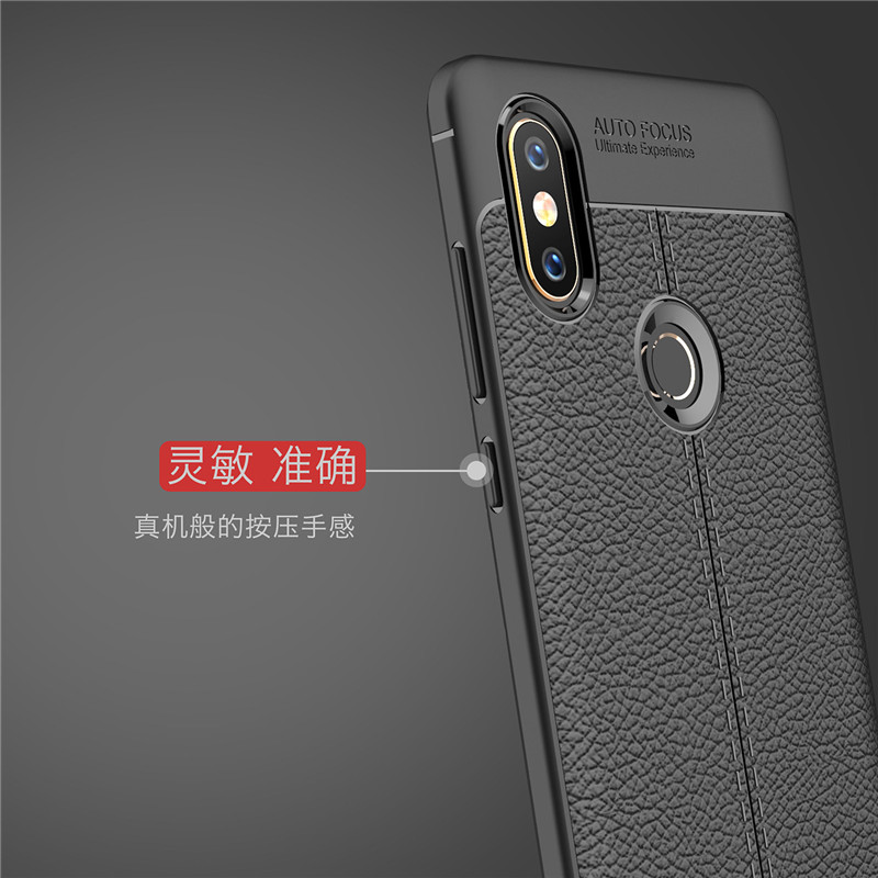 BSNOVT For Xiaomi Mi Mix 2S Case Xiaomi MiMix 2s Cover Soft Silicone TPU Leather Shockproof Phone Case For Xiaomi Mi Mix 2S in Fitted Cases from Cellphones Telecommunications