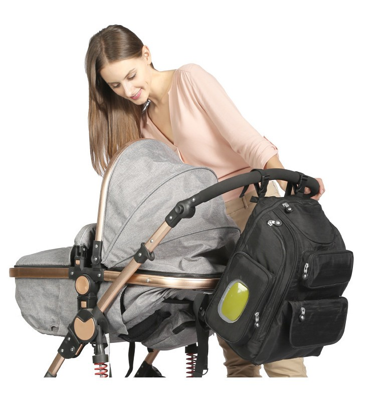 ФОТО NEW ABOUTBABY multifunction nylon baby stroller bag Mummy diaper bag fashion mother backpack waterproof handbag