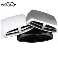 Universal Plastic Car Airflow Intake Scoop Engine Hood Turbo Bonnet Vent Cover Decoration Automobiles Car Styling