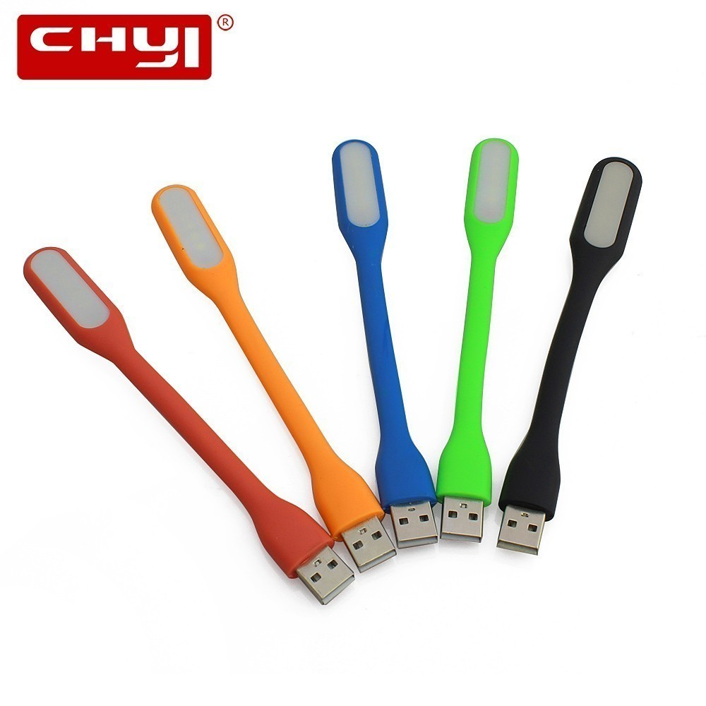 CHYI Usb Led Light Mini Gadget Flexible Micro Ventilador For PC Computer Usb Led Lamp Small Electronic Gadgets For Reading