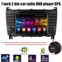 For M/ercedes B ENZ W203 W209 W169 W219 A Class A160 C Class C180 C200 CLK200 CLK350 Car DVD Player GPS Bluetooth