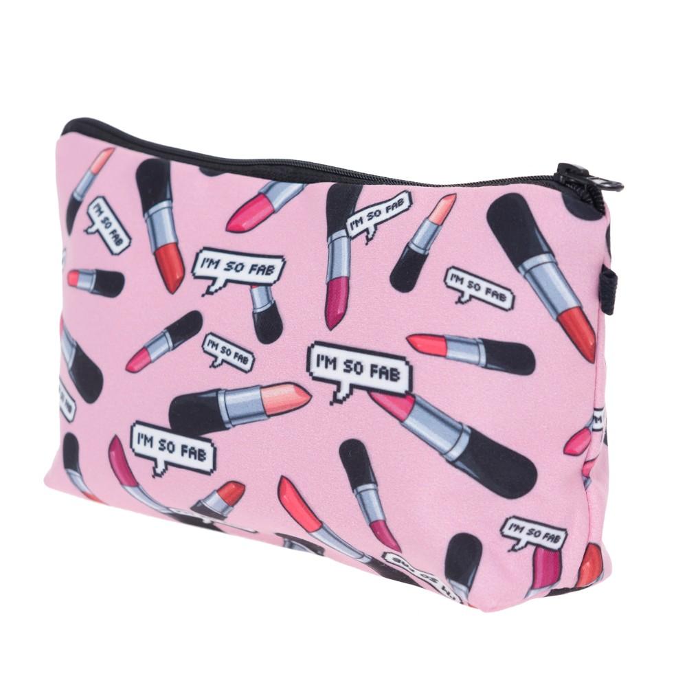 Lipstick Neceser Makeup Bag