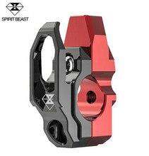 SPIRIT BEAST Motorcycle Helmet Hook Handle Mirror Mount Decoration Handlebar Modified Accessories