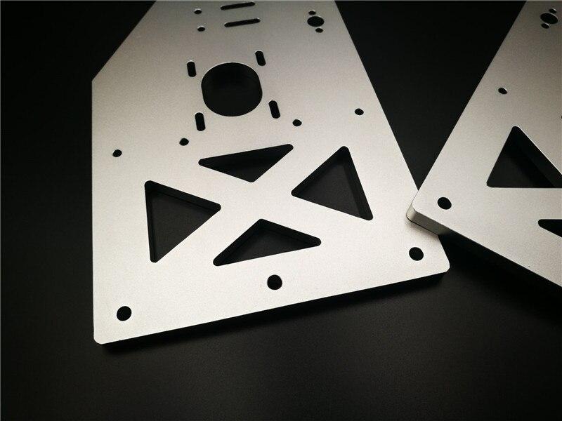 2 pièces * OX CNC plaque de portique plus grande kit Y portique 10mm épaisseur 29 cm hauteur plus grande Y plaques de portique pour la CNC de boeuf