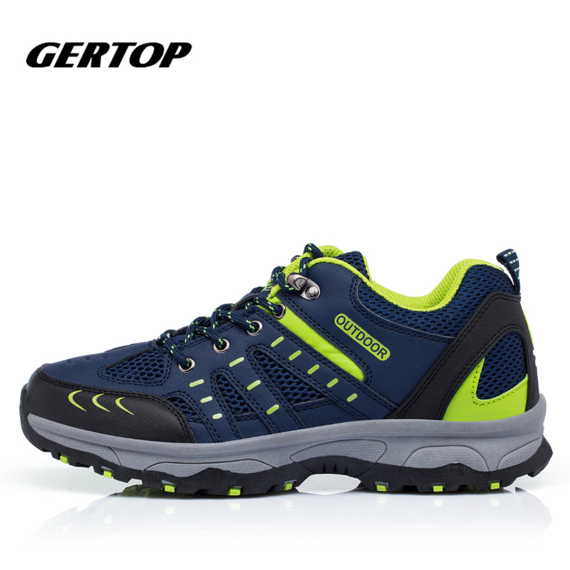 High Quality Men font b Hiking b font Shoes Outdoor Shoes Waterproof Breathable Mountain Shoes Hunting