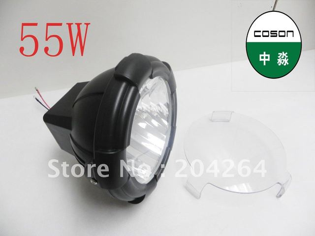 warranty for 14months+free shipping, 12v55w hid light ,hid xenon work light ,hid driving light, hid foglights