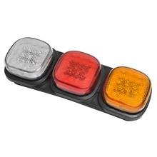 24 V 87 светодиодный правый задний фонарь прицеп Яркость светодиодный предупреждающие лампы Задний индикатор Лампа Стоп фара для туристов ATV