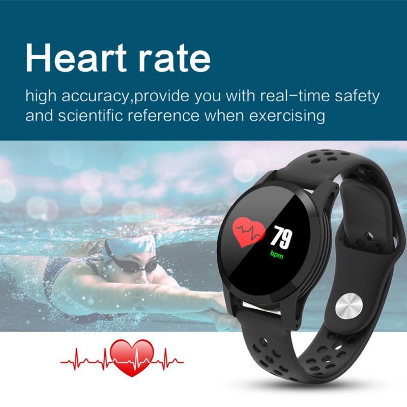 Q9 Smart IP68 Waterproof Watch Fitness Bracelet Sports Tracker Sleep Monitor WistbandQ9 Smart IP68 Waterproof Watch Fitness Bracelet Sports Tracker Sleep Monitor Wistband