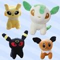 New Pokemon Eevee Plush Toys Kawaii Anime Pikachu Stuffed Pokemon Plush Doll Anime Kids Toys Cartoon Peluche Minecraft Plush Toy