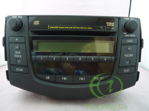 Toyota 86120 42170 Fujitsu Ten 6 Cd Changer For Rav4