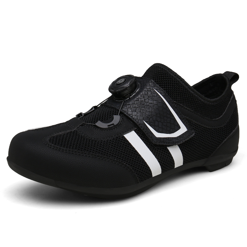 Road Cycling Shoes Carbon Fiber Black White Light Ultralight Bicycle Shoes Self Locking Bike Sneaker Sapatilha