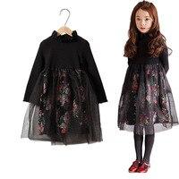 Autumn S Burst Big Boy Girl Dresses In Cotton Floral Paragraph Korean Princess Dress A