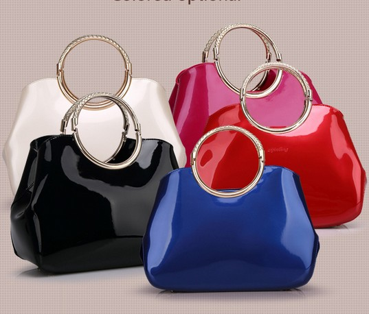 Valentine Bag Blue Elegance Handbags Pochette Soiree Women Shoulder Bags Evening Crystal Famous Luxury Brand Name In Top Handle From