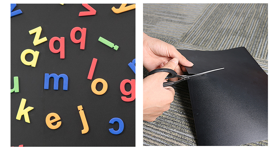 Creative Drawing Toys Child Self-Adhesive Black Drawing Chalk Board Doodle Toy Writing Painting Games Educational Toys Kids Crafts_05