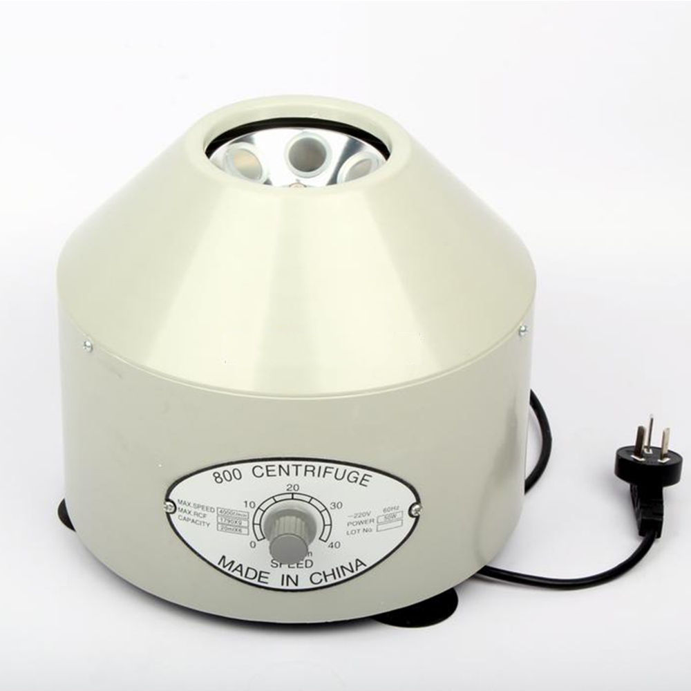 Centrifuge Electric Centrifuge / Low Speed Bench, Electrical Experiment, Medical Practice, Electric Centrifugal Sedimentator Cap 80 1 electric experimental centrifuge medical lab centrifuge laboratory lab supplies medical practice 4000 rpm 20 ml x 6