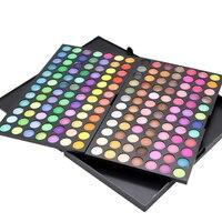 Matte Eyeshadow Nude Eyeshadow Eye Sequins Long Lasting Eyeshadow Palette 168 Color / Set Makeup Makeup Tools