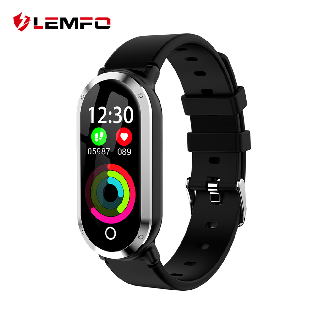 LEMFO T11 Smart Fitness Armband Sport Uhr 0,96 zoll Farbe Display Herz Rate Monitor Aktivität Tracker Band Für Männer Frauen