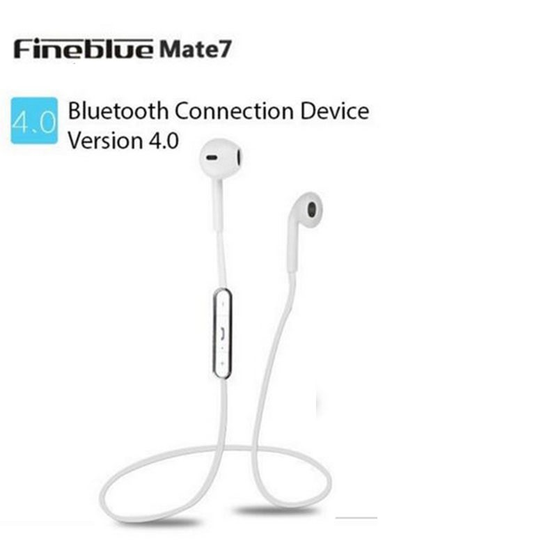 Original Fineblue Mate7 Blutooth Earphone Wireless Music Auriculares Stereo Sport Headset Microphone Fone De Ouvido for