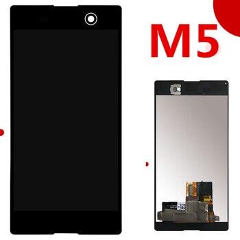 Pour Sony Xperia M5 écran LCD + écran tactile + cadre numériseur assemblée E5603 E5606 E5653 E5633 pour SONY M5 LCD pièces de rechange