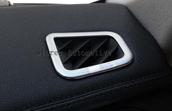 Chrome Interior Aksesori Dashboard Air Stopkontak Stiker Untuk Land Rover Discovery 4 LR4 2009-2015, Mobil Styling