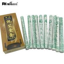 Lima Tahun Moxa Gulung Moxa tabung akupunktur pijat untuk pelangsing & kecantikan tongkat Moxa Moksibusi 18x200mm 10 pcs / box