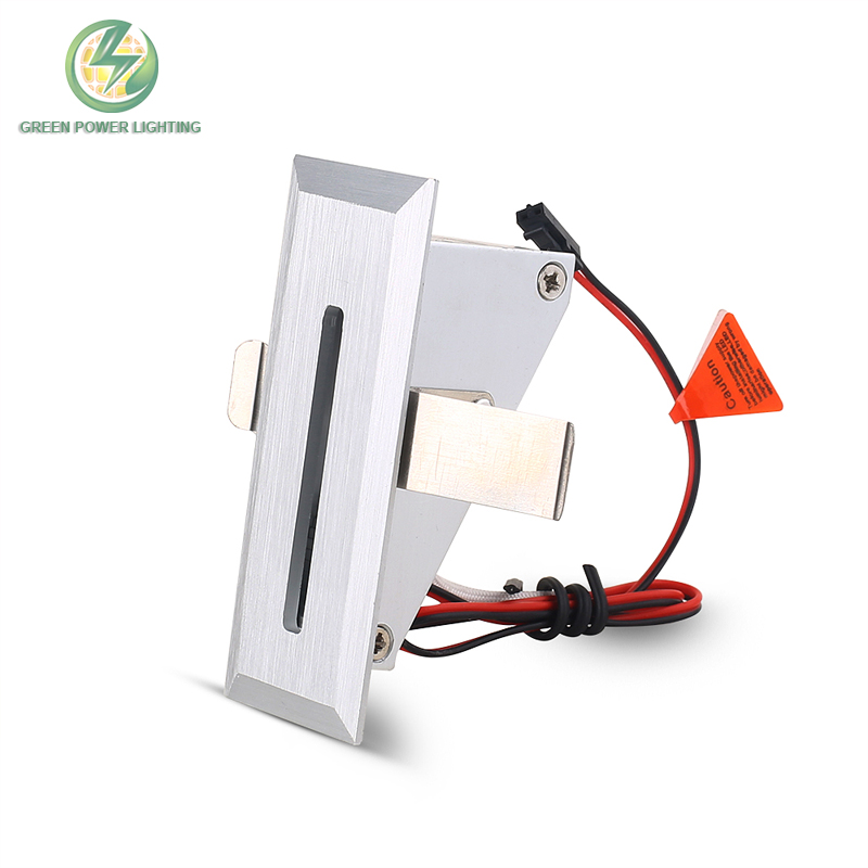Recessed mounted indoor led step wall light stair lamp wall lamp