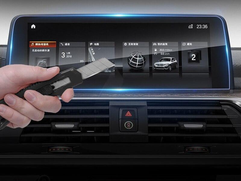 Para bmw x3 g01/bmw x4 g02 2018 2019 exibição gps do carro navegação vidro temperado protetor de tela filme 1pcs
