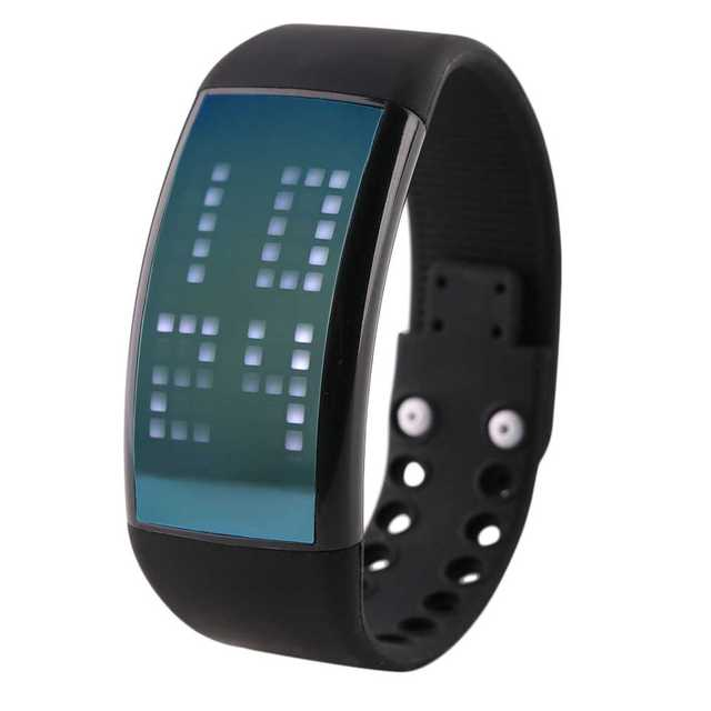Fashion Design 3D Pedometer Watch Men Women Unisex Band Silicone Bracelet Fitness LED Watch Calorie Function Watches New Arrival