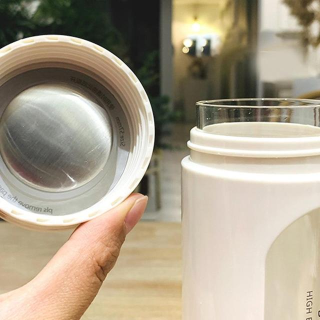 Leak Proof Cup BPA-Free Glass Water Bottle