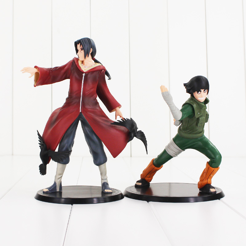 7 5 Anime Naruto Uchiha Itachi Rock Lee 2pcs Set The 17th PVC Action Figure Collection