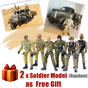 Q60 Q61 RC Car 6WD 4WD Off-Road Military Truck Speed Conversion