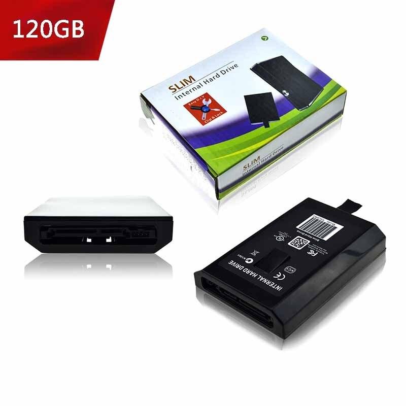 20 GB/60/120/250 GB/320 GB/500 GB HDD disco duro para xbox 360 Slim/Xbox 360E Consola para Microsoft XBOX360 Slim Juegos Consola
