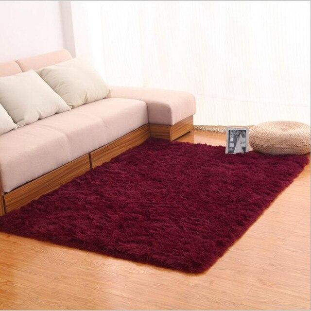 Wybitny 140 cm * 200 cm jakości włochate dywany dywaniki małe średnie duże XW13