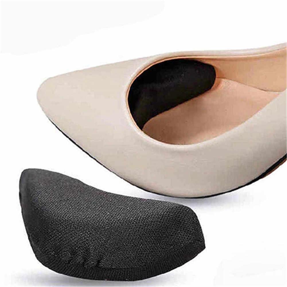 1 쌍 패션 안티-고통 스폰지 쿠션 발 앞발 절반 미터 신발 패드 상단 플러그