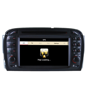 Free Shipping 2016 Top Professional Wince Car Multimedia System DVD Radio For Mercedes SL R230 2001-2004.6 With GPS Navi BT Map