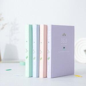 Image 2 - Koreańskie Kawaii uroczy kwiat terminarz tygodniowy miesięczny roczny planer organizer notatnik Kawaii Agenda 2019 sklep papierniczy