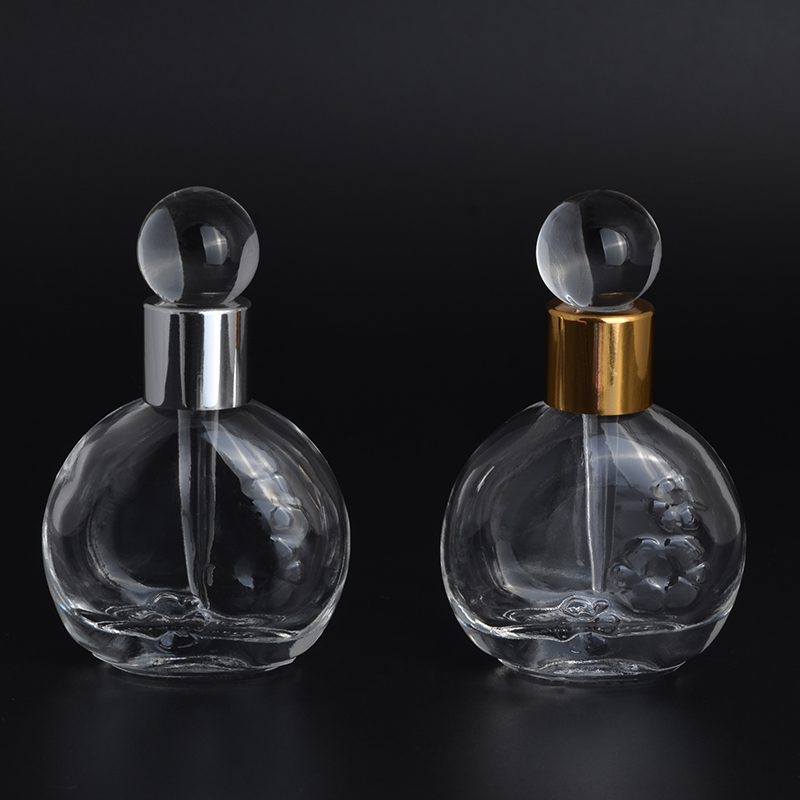 MUB 13 Ml Crystal Sample Dropper Bottle For Essential Oils Glass Refillable Perfume Bottles Portable Travel Empty Containers