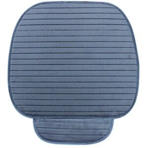 Image 4 - Capa para assento traseiro e dianteiro, almofada antiderrapante, acessórios automotivos, protetor universal, assento, almofada, mantém quente inverno