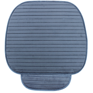Image 4 - Car Seat Cover Front Rear Flocking Cloth Cushion Non Slide Auto Accessories Universa Seat Protector Mat Pad Keep Warm in Winter